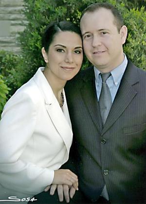 Liliana Cepeda Ramírez y Carlos Vázquez.