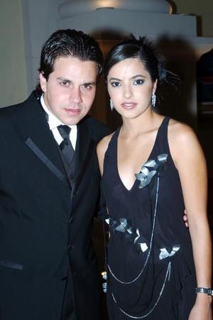 Ignacio Martínez y Pilar González.