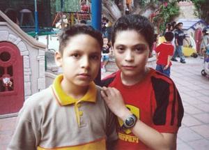 <b>21 de mayo </b><p> Said Morales y Alaín Morales