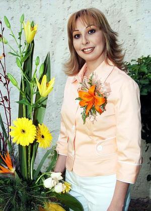 Cecilia Castillo Mancha en su despedida de soltera.