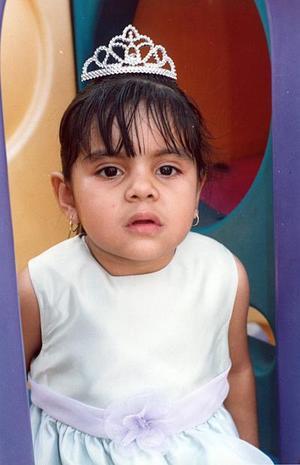 Gisela Carrera Castruita cumplió dos años de vida en días recientes.