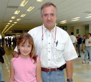 Pamela Rivero y Mario Rivero viajaron a Miami.