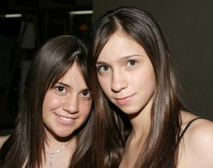 Ana Melisa Navarrete y Bárbara Madero