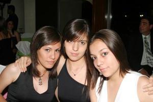Laura Delgadillo, Gaby Gardea y Stefanía Medrano
