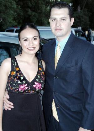 Valeria Correa y Octavio Durán