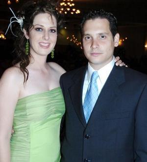 Claudia de González y Severino González