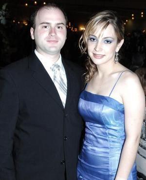Claudia Rueda y Paolo González