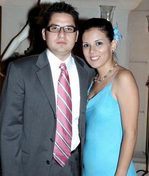 Miguel Mena y Marifer Belmont