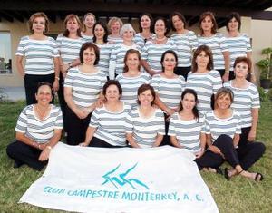 Club Las Misiones de Monterrey, en la inauguración del torneo de golf.