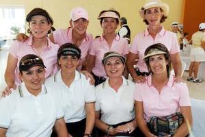 Laura de Silva, Ileana de Soto, Blanca Bustos, Cristy Fernández, Susana Gutiérrez, Susy Olvera, Adriana Palma y Caro Flores.