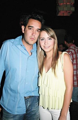 Luis Dibildox y Sonia Pérez