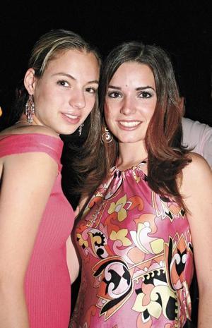 Mary Gaby Gutiérrez y Luisa Espada