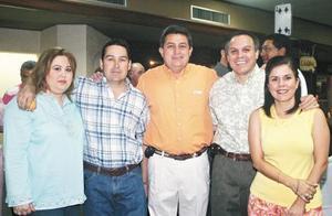 Bárbara López de Amarante, Jaime Amarante, Benjamín Tumoine, Fernando Vera y