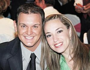 Miguel Cepeda Garza y Liliana Arizpe de Castro