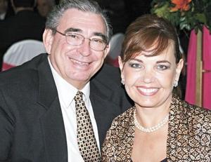 Alfonso Arizpe Garza y Patricia Garza de Arizpe