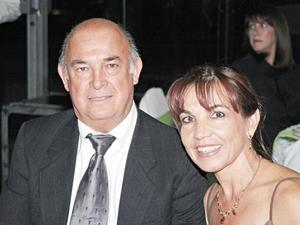 Miguel Ángel Cepeda y Leticia de Cepeda