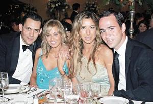 Juan Carlos Martín, Elsa Maria González, Amiel Ruiz y Paco Martín