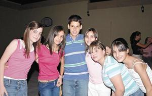 Nidya Hernández, Sofía de la Torre, Toufik Murra, Alejandra Calvete, Sofía Díaz y Paola González