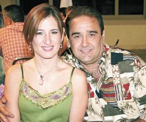 Pilar Flores de Diez y Guillermo Diez