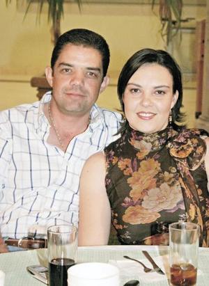 Pablo Lechuga y Caty Montaña