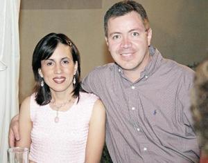 Betty Gómez y Gabriel Calvillo