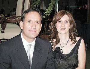 Eduardo Camacho y María Rosa Medina