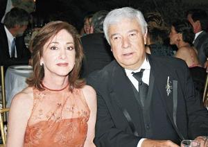 Virginia García de Ibargüengoytia y Eduardo Ibarguengoytia Acuña