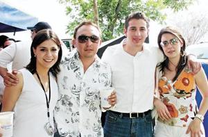 Mary Tere, Iván Obeso, Jorge Cepeda y Ana Sofía González