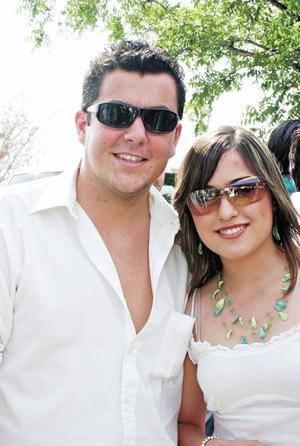 José Villarreal y Laura Zermeño