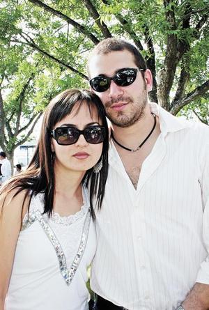 Erika Wolff y Adrián Aguilera