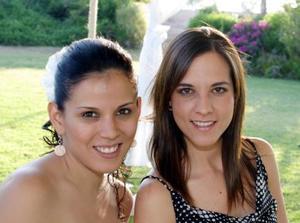 Paulina Delgado y Mafer Belmont.