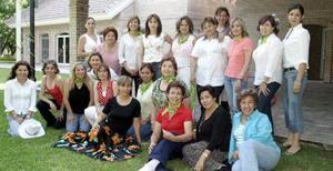 Club de Jardinería Alhelí, en la celebración de su aniversario.