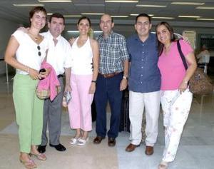 <b>28 de mayo </b><p> Daniel Amarante, Canela Portilla, Javier y Mirita Garza, Martín y Marcela Amarante viajaron a Culiacán.