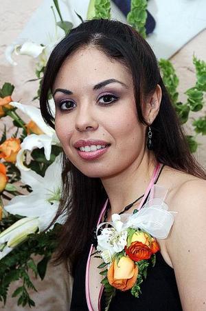Myrna Pérez el día de su despedida de soltera