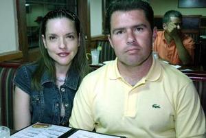Leticia Villarreal y Ernesto Dávila.