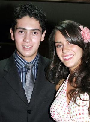 Roberto Escalante y Daniela Sesma.