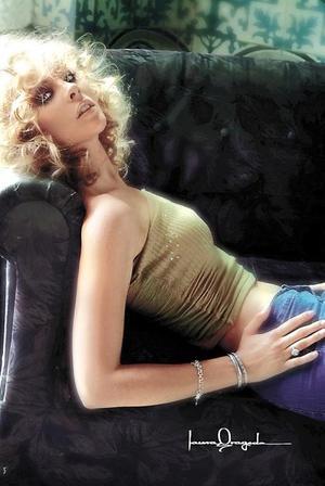 Melissa Cantú Rosales, captada en un estudio de Laura Grageda.