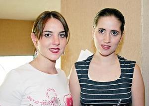 Sofía de Marcos e Ileana de Villarreal.