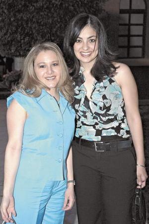 Ana Cristina de Mery y Bárbara de Balcázar.