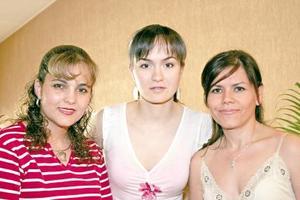 Cecy García, Érika Wolf y Silvia Padilla.