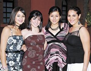Fátima Zamora, Carmina Mery, Ale Rosales y Mary Sony Iga.