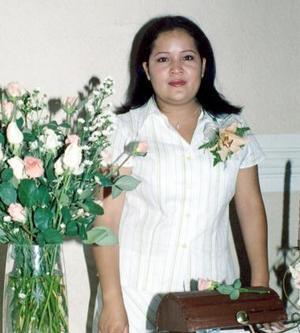 <b>29 de mayo </b><p> Rocío Luévanos Monreal contraerá nupcias con Jesús Ramírez Soto el próximo  30 de junio