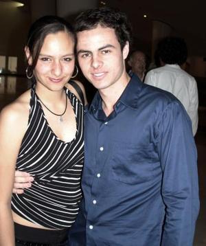 Rocío Barocio y Jorge Murra.