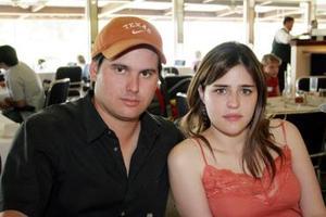 Gabriel Zermeño y Brenda Dávila.