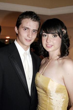 <b>30 de mayo </b><p>  Javier Gurza y Brenda Gutiérrez.