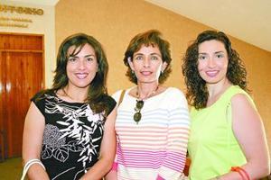Cristina de Gallegos, Gabrilela de Alanís y Gabriela de Gálvez