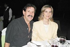 Eduardo y Patricia Martínez.