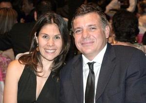 Pia Franch de Arriaga y Andrés Arriaga.