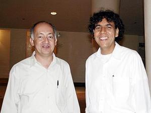 Armando Martínez y Raúl Jázquez Flores.