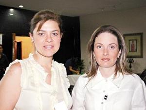 Gaby Finer y Adriana Echávez de Tricio.